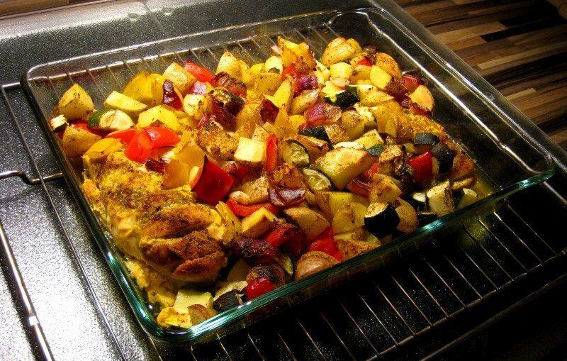 Rezept Auflauf Hähnchen Curry