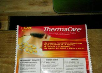 Thermalcare Wärmepflaster Verpackung