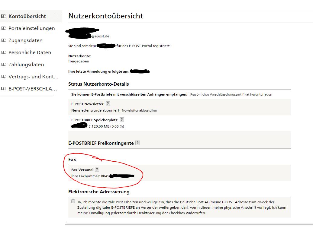 Kostenlos Online Fax Senden So Gehts Alltagsakrobat