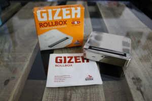 GIZEH Rollbox Drehmaschine Lieferumfang