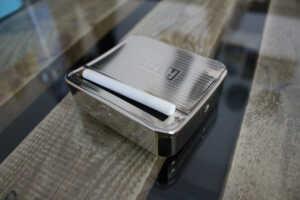 GIZEH Rollbox Drehmaschine gedrehte Zigarette