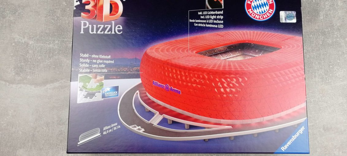 3d puzzle allianz arena verpackung